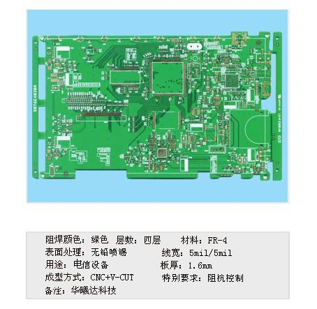 Contact Equipment PCB 1