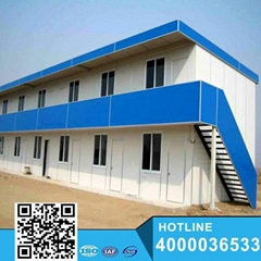 China Modern steady construction building prefab house for school