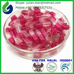 Halal empty gelatin capsules size 00,0,1,2,3,4,5