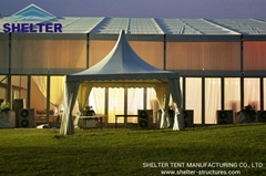 Shelter-Event Tent-Pagoda Tent-High Peak Tent