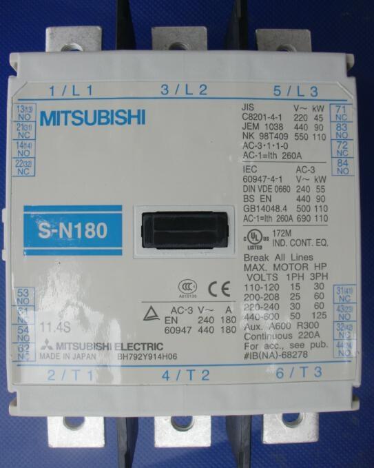 廣州觀科銷售三菱電磁接觸器S-N11  5