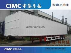 CIMC Van type semi trailer