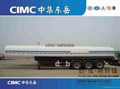 Cimc Fuel Tanker Semi Trailer