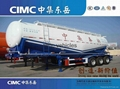 Cimc Manufacture Bulk Cement Semi