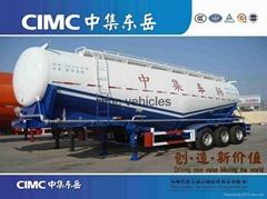 Cimc Manufacture Bulk Cement Semi Trailer