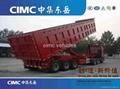 Cimc Tri-Axle Dump Semi Trailer