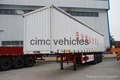 Cimc Manufacture Cheap Side Curtain Van