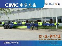 CIMC Port Terminal skeleton semi trailer