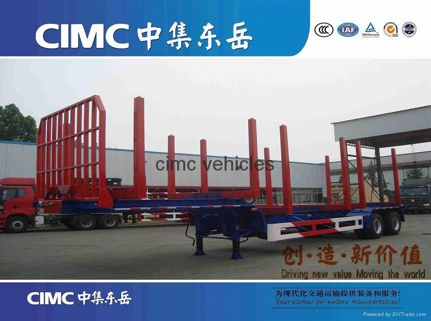cimc wood transport semi trailer 1