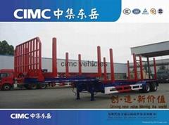 cimc wood transport semi trailer