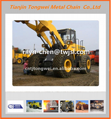 Agriculture tyre protection chain