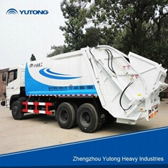 YUTONG waste compactor truck