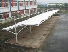 寧波永發膜結構停車棚