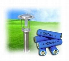 18650 3.7V 2600MAH锂电池Lithium-ion battery