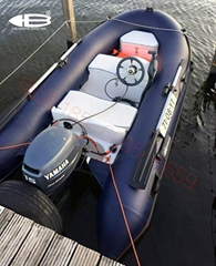 new luxury RIB330L boat