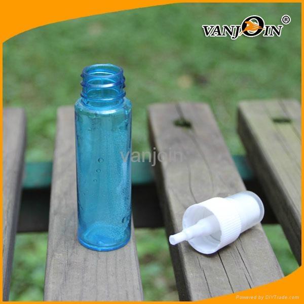 Blue Color PET Perfume Atomizer Bottle  4