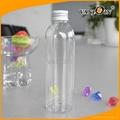 transprent platic bottle 200ML