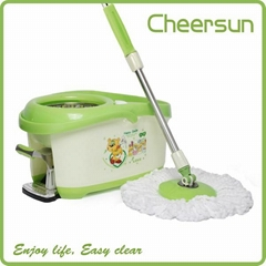 2015 New Style Spin magic walkable Mop