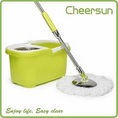 360 Degrees Floor Cleaner easy mop magic rotating mop