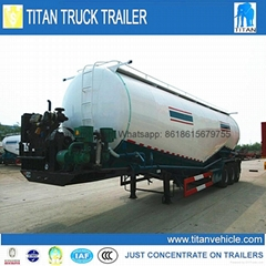 2015 top supplier 3 axle bulk cement transportation truck trailer for sale