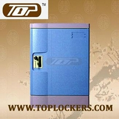 Four Tier Storage Lockers ABS Plastic Navy