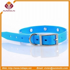 New design TPU coated dog collar