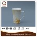 customized ceramic stoneware coffee cup set 5