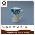 customized ceramic stoneware coffee cup set 4
