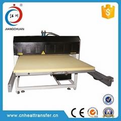 Glass heat transfer printing machine
