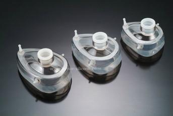 Disposable Gas Respirator Silicone Face Mask 3