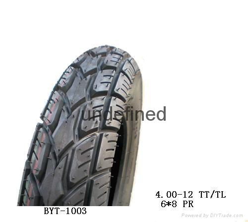motorcycle tire(4.00-12TT/TL) 1