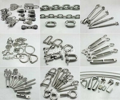 China Factory Cheap and High Quality Stainless Rigging Marine Hardware