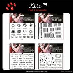 Cosmetic Standard Body Art Waterproof Custom Tattoo Stickers