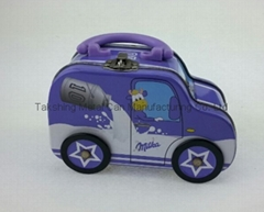 car shaped tin