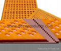 Polyurethane crusher screen
