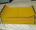 Polyurethane filtering mesh