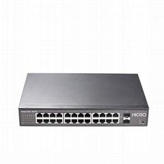 Gigabit 24 TP + 2 SFP ethernet switch