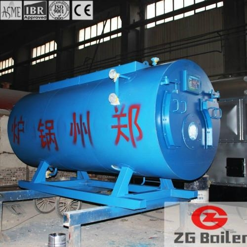 SZS Series Oil and Gas Boiler in Beverage business - China -
