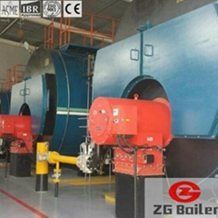 Phase Change Vacuum Boiler in Dairy Product Factory