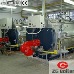 WNS Series Oil and Gas Fired Boilers in Textile Industry