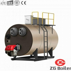 Phase Change Vacuum Boiler in Garment Factory