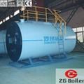 Vertical field assembly Gas Fired Boiler