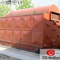 DZL Series Distiller Fired Packaged Boiler in Beer Brewery