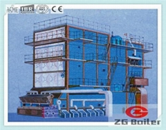 SHL Series Chain Grate Biomass Stalks Fired Boiler in Beer Factory
