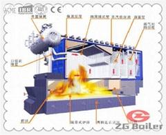 Distiller Fired Boiler in Distillery