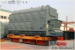 DZL Packaged chain grate boiler in paper making factory