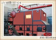DHL corner tube chain grate boilerin Paper Industry