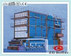 SHL series field assemble chain grate boiler in Paper Mill