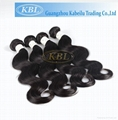 KBL Wholesale Virgin Malaysian Remy Hair Natural Straight Hair Extension 2