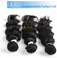 KBL Wholesale Virgin Malaysian Remy Hair Natural Straight Hair Extension 3